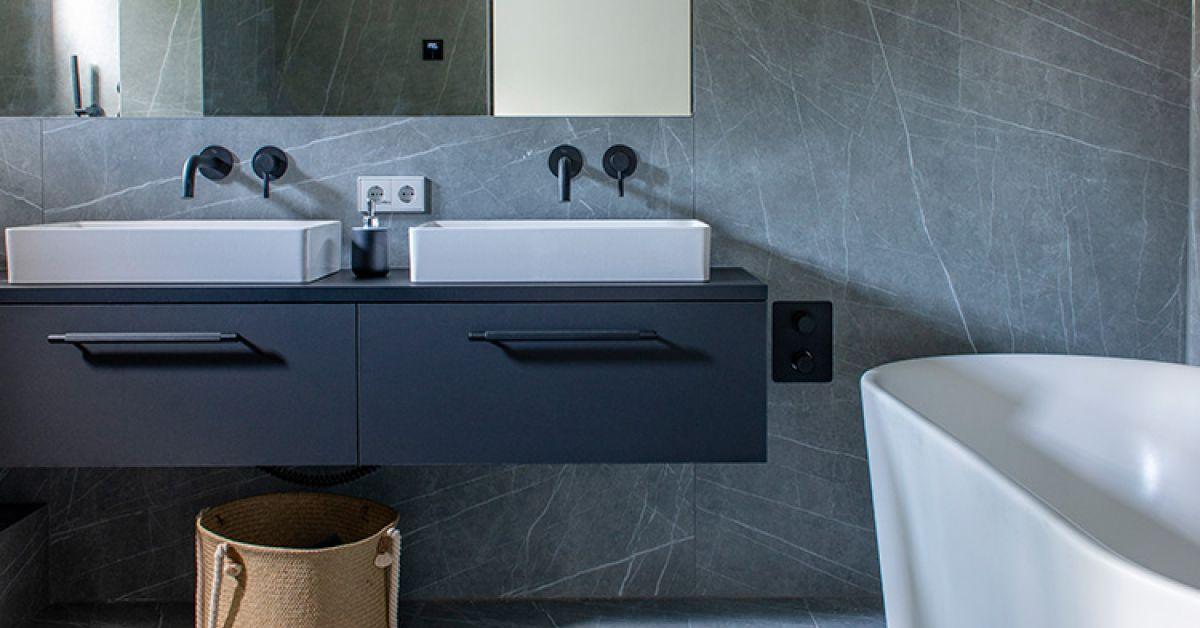 Een Nieuwe Badkamer In Amsterdam Grando Keukens